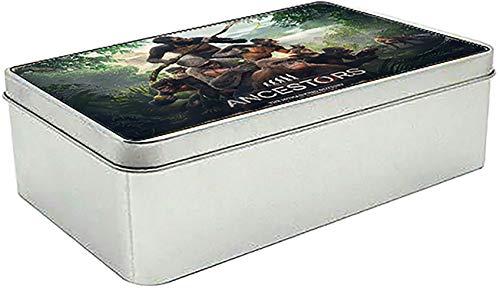 MasTazas Ancestors The Humankind Odyssey Boîte Métallique en Fer-Blanc Metal Tin Box