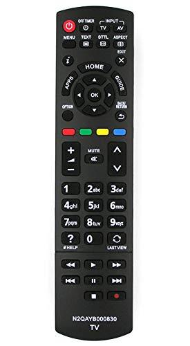 Télécommande de Remplacement pour Panasonic TV N2QAYB000830