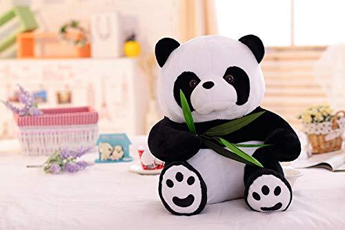 Wxizhu Weiches Spielzeug Umarmung Bambus Riesige Panda Puppe Simulation Panda Hug Bär Panda Sauger Süßes Kuscheltier (Color : Bamboo Bear, Size : 25cm)