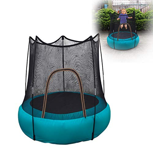 CJY-Cushion Inflatable trampoline kids Fold Bounce Trampoline, inflatable jumping bed, outdoor children's play trampoline, easy to carry,mute, light weight, wear resistance, good waterproof