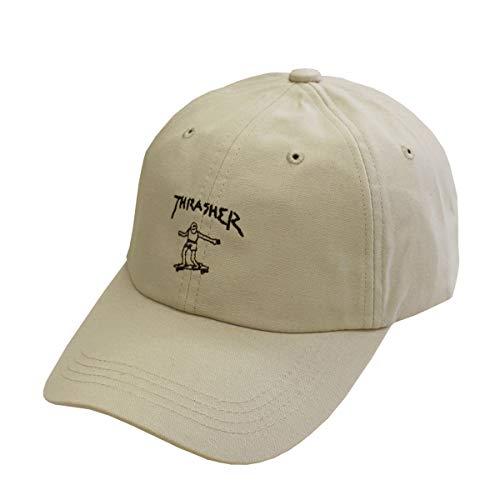 【公式】 スラッシャー キャップ THRASHER GONZ ART COTTON DAD CAP キャップ メンズ レディース 帽子 ロー...