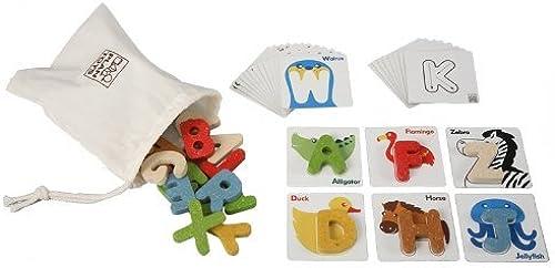 PLANTOYS 5168 alphabet A-Z (japan import) by Plan Toys