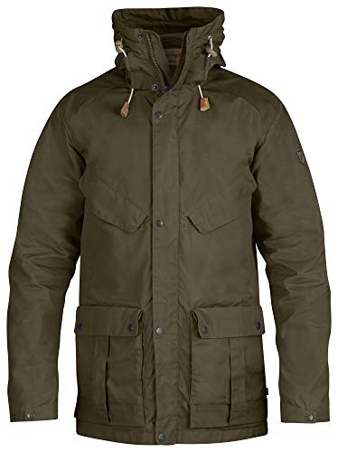 FJÄLLRÄVEN Jacket No. 68 M Veste de sport Homme Dark Olive FR: L (Taille Fabricant: L)