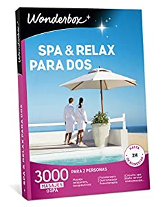 WONDERBOX Caja SPA & Relax para Dos- 3.000 experiencias de para Dos Personas