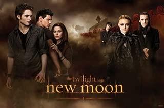 The Twilight Saga: New Moon - Movie Poster (Jacob, Edward, Bella & The Volturi) (Size: 36