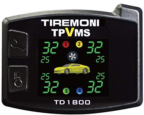 TireMoni TPVMS TD-1800-X Reifendruck- und Vibrations-Kontrollsystem, externe Sensoren
