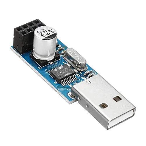 Módulo de ampliación, USB al Adaptador módulo WiFi ESP8266 Junta 5 x móvil inalámbrico de Ordenador Comunicación MCU