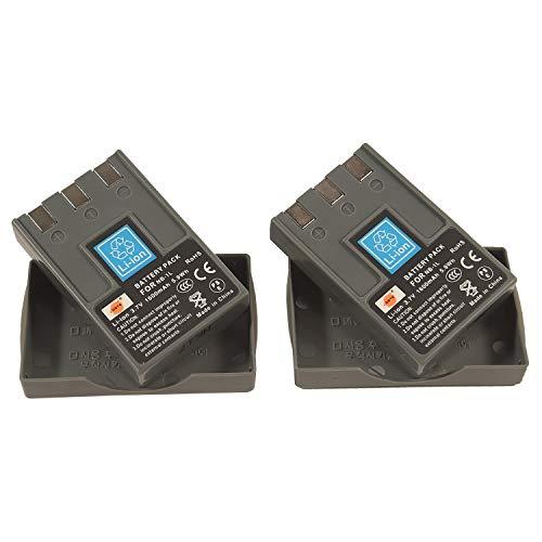 DSTE 2x NB-1L Li-ion Batería parar Canon NB-1L, NB-1LH and Canon PowerShot S110, S200,...