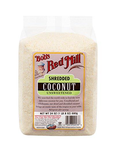 Bobs Red Mill, Medium Kokosraspeln, ungesüßt, 24 oz (680 g) 5.7 x 3.6 x 7.5 inches
