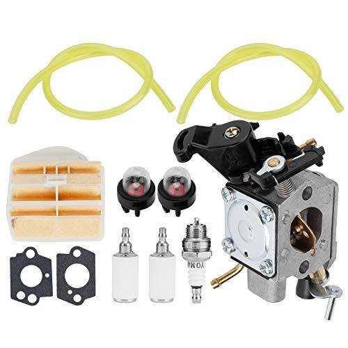Deror Reemplazo del Kit de carburador 506450401 para Piezas de Motosierra Zama C1M-EL37B