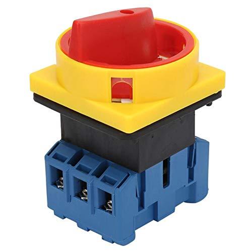 Sin interruptor de disyuntor de carga tripolar 40A / 63A Larga vida útil para máquinas herramienta(40A, Blue)
