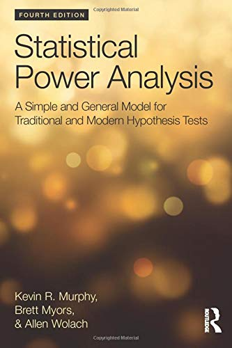 Statistical Power Analysis