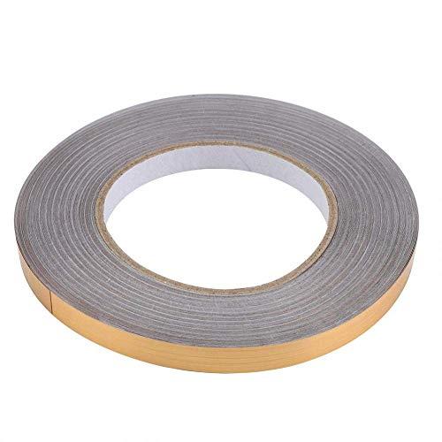 Etiqueta engomada de PVC Lámina de PVC Piso de la habitación Línea de grietas Etiqueta autoadhesiva Decoración de baldosas de esquina de suelo (1 厘米 x50 米 (金色))