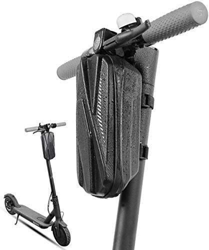 Bicicleta plegable frente de la cesta, a prueba de agua frontal de la PU del bolso del manillar Cesta for motos, bicicletas, coches de equilibrio, bicicletas plegables, plegables coches eléctricos, Co