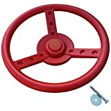Lenkrad/Steuerrad für Spielanlagen, rot