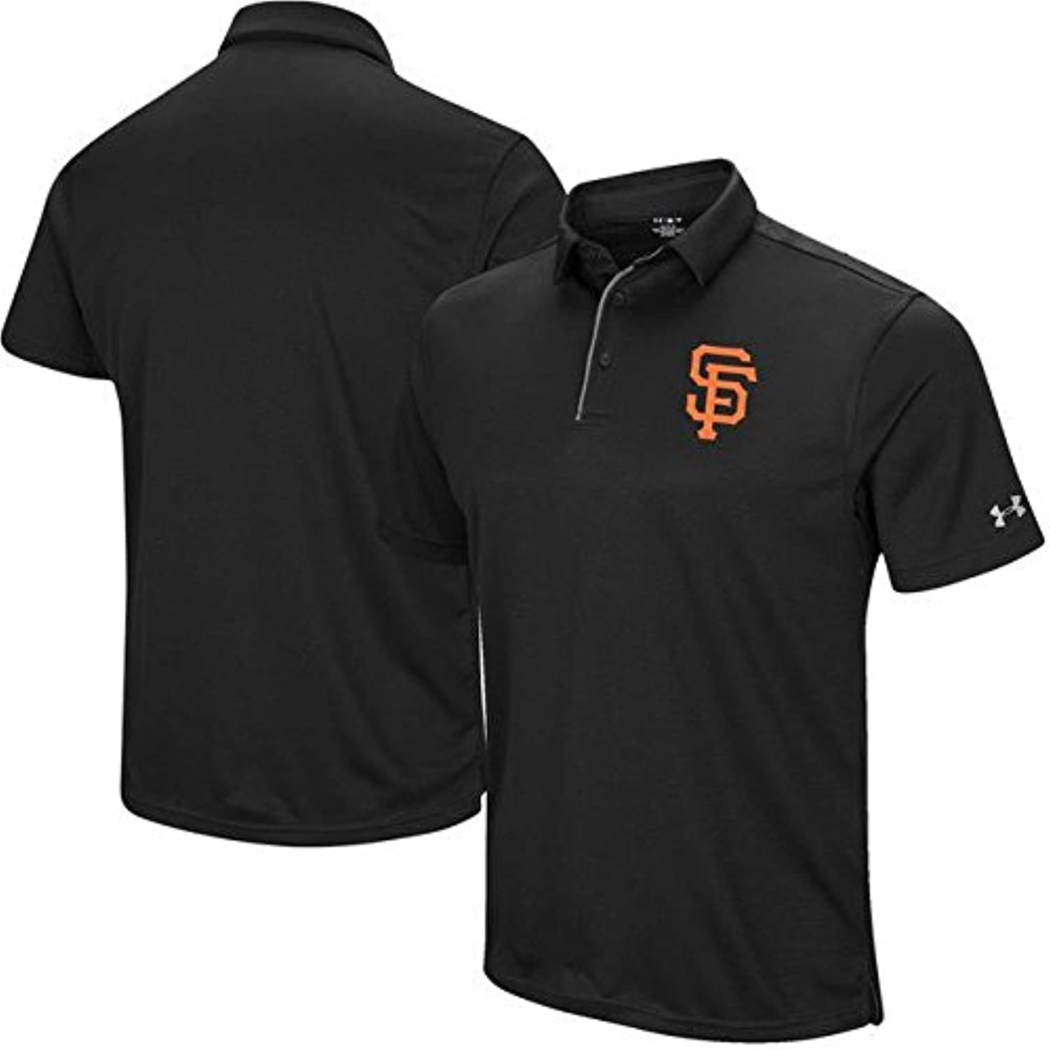 Under Armour Under Armour San Francisco Giants Black Left Chest Performance Polo シャツ ポロシャツ 【並行輸入品】
