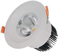 BSOCL مصباح الضوء الأبيض 24 درجة مدمجة في مراكز التسوق ومعدات الإضاءة التجارية CRI80 IP40 مصابيح LED مدمجة بالسقف المقاوم ...