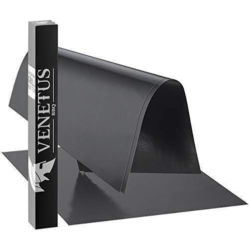 VENETUS-BBQ Premium Grillmatten (3-er Set) 40x50cm für Gasgrill und Holzkohle - extra stark