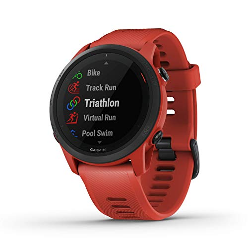 Garmin Forerunner 745, GPS Running Watch, Detailed Training Stats and On-Device Workouts, Essential Smartwatch...