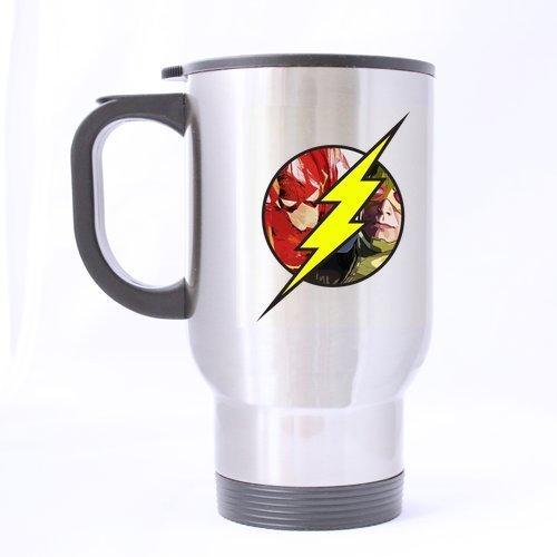 BOLALA The Flash Logo Lightning Customized Design Travel Mug(theekopjes/koffiekopjes) Coffee Mok (theekopjes/koffiekopjes) Creative Sport Cup Gepersonaliseerde Tea Cup 14OZ