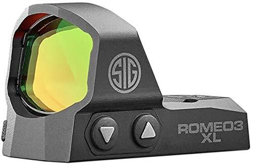 Sig Sauer SOR32004 Romeo3 XL | 6 Moa, 1.0 Moa Adjust, Black, One Size