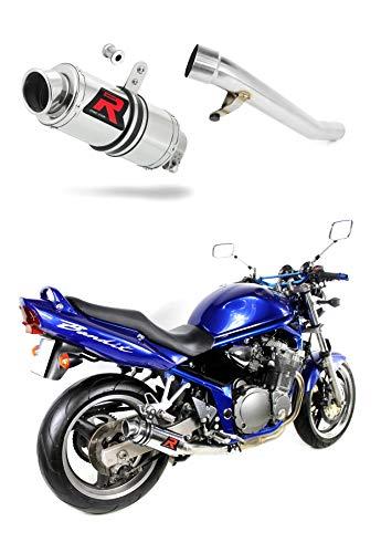 GSF Bandit 600 Escape Moto Deportivo GP I Silenciador Dominator Exhaust Racing Slip-on 2000 2001 2002 2003 2004
