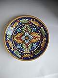 CM Ceramica - Piatto fangotto decoro geometrico decorativo e per uso...