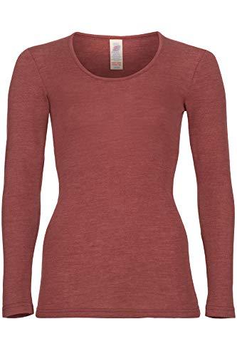 Engel Camiseta interior de manga larga para mujer.