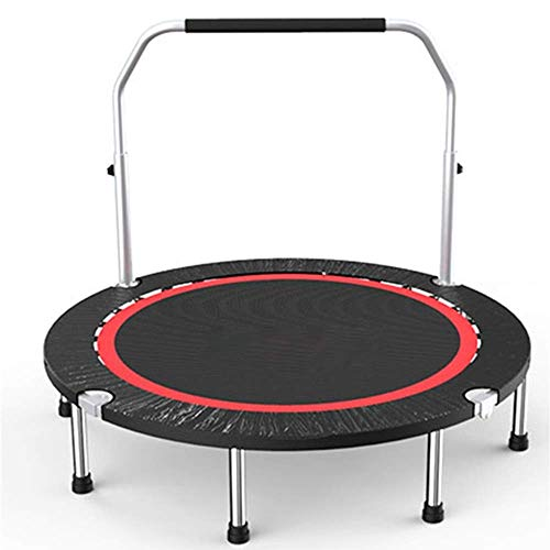 Rebounder Trampolines Gym Household Children's Indoor Bounce Bed Outdoor Adult Sports Weight Loss Trampoline with Double Armrests Load 325KG Fitness Trampoline Exercise Equipment