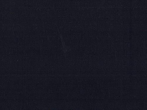 Swafing elastisches Bündchen DIY Stoff Meterware/Schlauchware dunkelblau uni, 0,5m