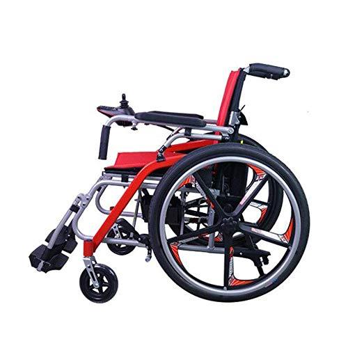 Haltbarer, zusammenklappbarer Elektrorollstuhl, klappbarer Mobilitätsstuhl, tragbarer, automatisierter, motorisierter Rollstuhl
