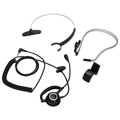 minifinker Auriculares Auriculares con Elasticidad Moderada, para teléfonos de Centro de Llamadas, para teléfonos Digitales, para el Lugar de Trabajo