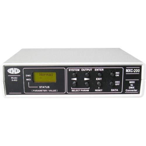 CHD Elektroservis MXC-200 - MIDI to DMX Converter