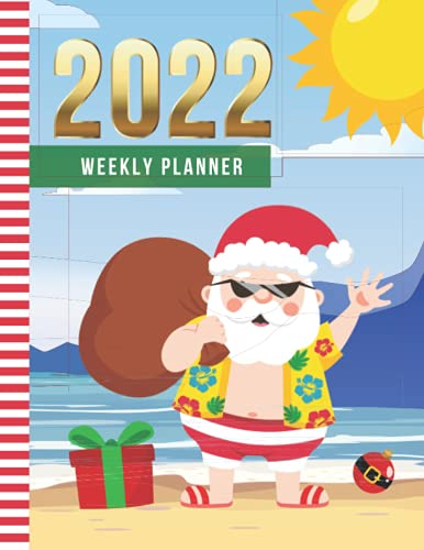 2022 Weekly Planner: 8.5x11 Dated 52-Week Organizer With To Do List - Notes...