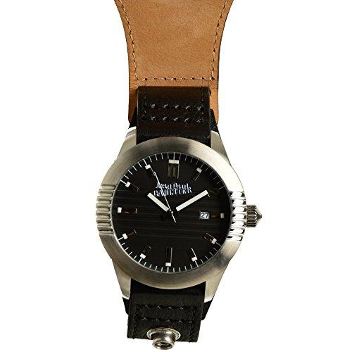 Jean Paul Gaultier Reloj Analógico para Hombre de Cuarzo con Correa en Cuero 8502501