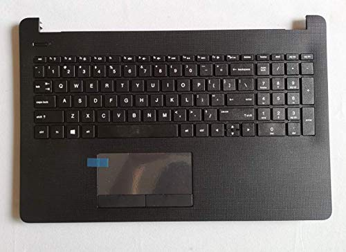 Replace for HP 15-BS013DX 15-BS015DX 15-BS020WM 15-BS033CL 15-BS038DX 15-BS051OD 15-BS053OD US Keyobard W/Palmrest Touchpad Shell Upper Case Cover