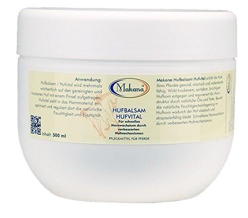 Makana Hufbalsam Hufvital weiß, 500 ml Tigel (1 x 0,5 l)
