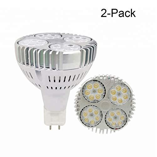 JUMRO LED-Glühbirne G12 PAR30 LED Lampe 30W PAR30 Scheinwerfer Gleichwertiger Ersatz 240W Halogen-Metalldampflampe AC 85-265V,Naturallight