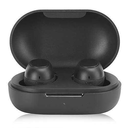 Exquisito Bluetooth Auriculares, 4.5h (Con Cargadura Caso) Música Jugando Tiempo 380mAh V5.0 Deportes Inalámbrico Bluetooth Auriculares abdominales por Corriendo, Yoga, Ciclismo, Gimnasio Ejercicio
