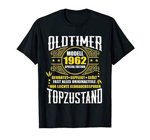 58. Geburtstag Geschenk Oldtimer Topzustand Jahrgang 1962 T-Shirt