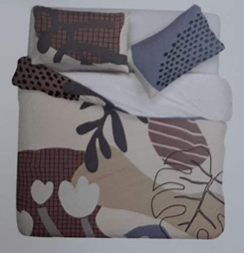 Juego de sábanas con impresión digital GabelHub (Alan, 2 plazas)
