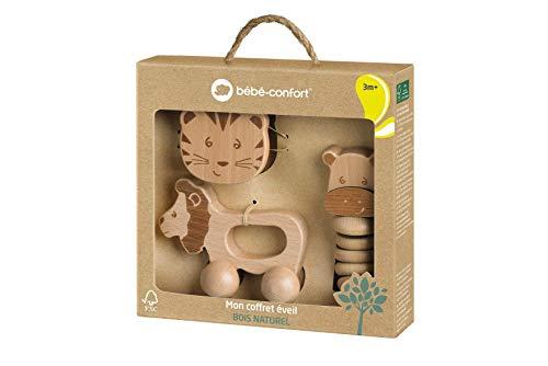 Bébé Confort Coffret cadeau jouets d'éveil en bois FSC...
