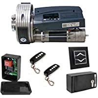 Kit Motorline160 SP motor puerta enrollable cierre metalico persiana metalica hasta 160kg de peso, para automatizar puertas de garaje o persianas comerciales, con pulsador subida bajada exterior