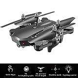 YHM Drone Caméra 4K Haute Définition, Distance De Contrôle De Positionnement GPS 150 Mètres, Drone Pliable À Transporter