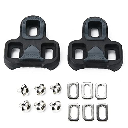 Tacos de bicicletas Ciclismo Pedales grapas del conjunto de autobloqueo del pedal f¨¦rula compatible con Look KEO Grapas 1 Par