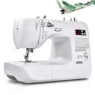 Uten Computerised Digital Sewing Machine Embroidery Quilting Function Machine 60 Stitches for Beginn...