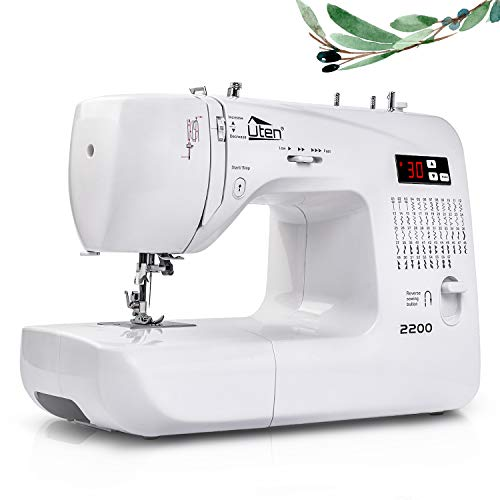 Uten Computerised Sewing Machine Embroidery Quilting Machine 60 Stitches for Beginners