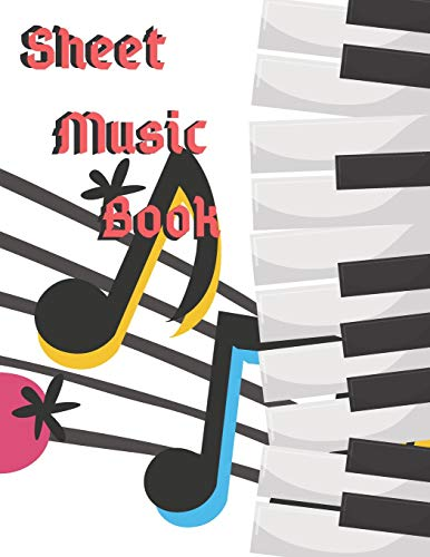 Music Sheet Book: 8.5inX11in 100 pages