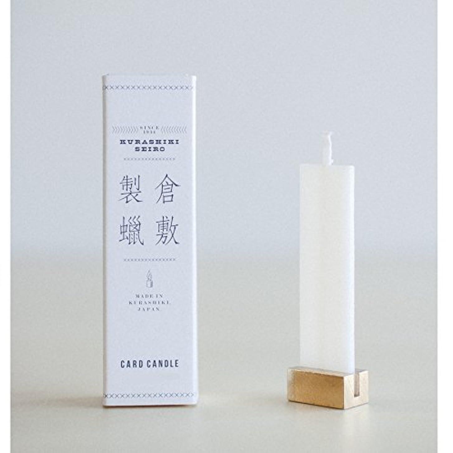 ホームレスウッズマージ倉敷製蝋 CARD CANDLE (Fresh Floral)