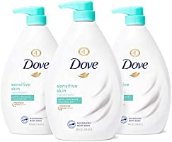 Dove Body Wash Hypoallergenic and Sulfate Free Body Wash Sensitive Skin Effectively Washes Away Bacteria While...